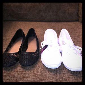 2 Pair NEW Women's Bobbie Brooks Shoes Size 9